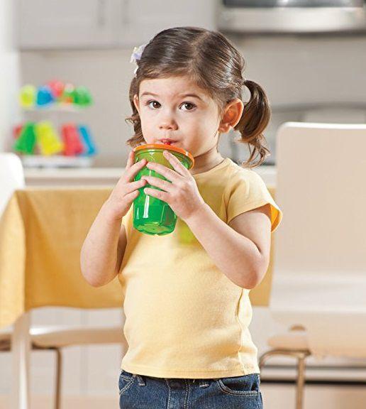Kit 4 copos coloridos de canudinho - The First Years  - Kaiuru Kids