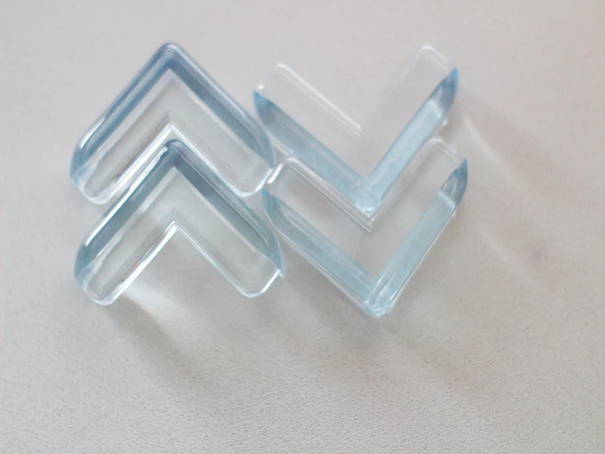 Kit 4 protetores de quina angulares - KaBaby  - Kaiuru Kids