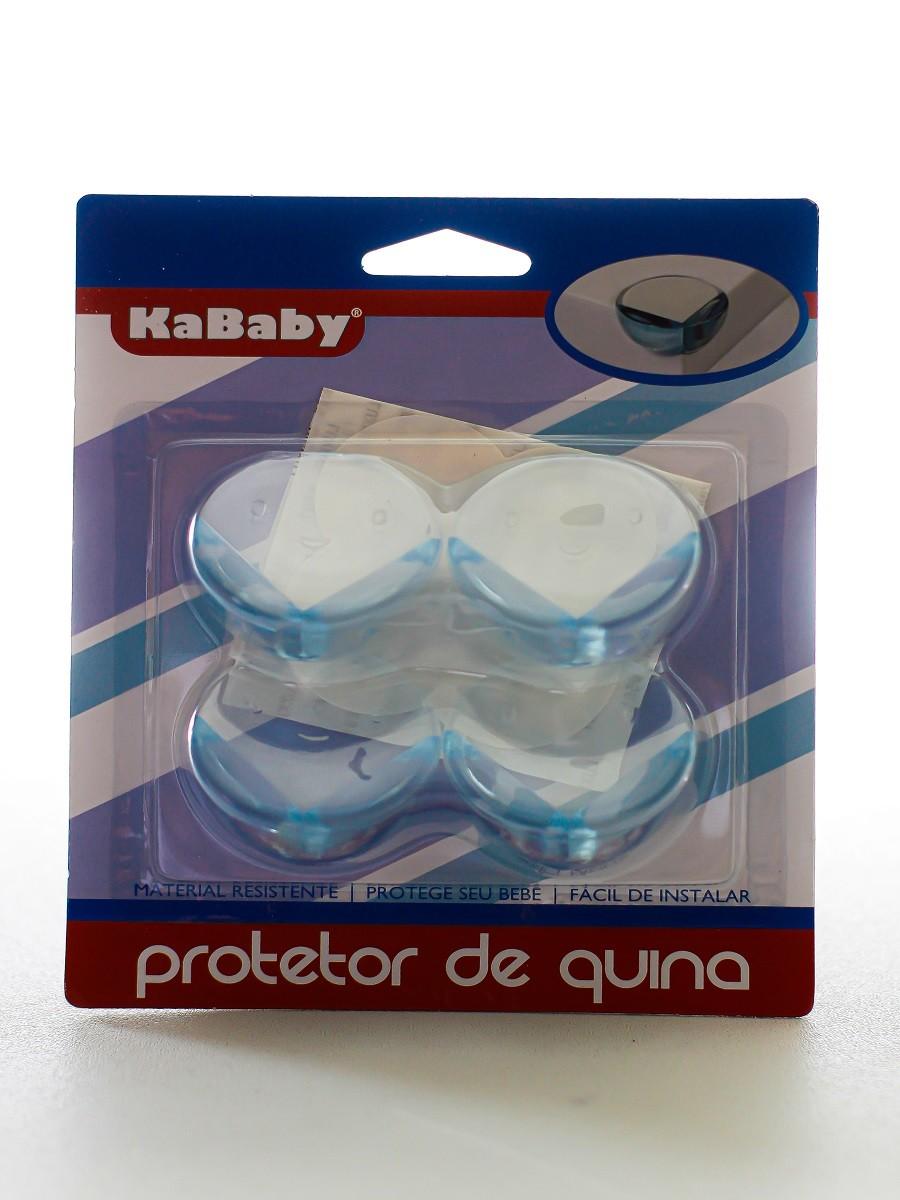 Kit 4 protetores de quina arredondados - KaBaby  - Kaiuru Kids