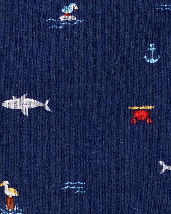 Kit 5 bodies regata baleias - Carters  - Kaiuru Kids