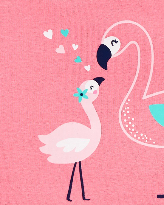 Kit 5 bodies regata flamingo - Carters  - Kaiuru Kids