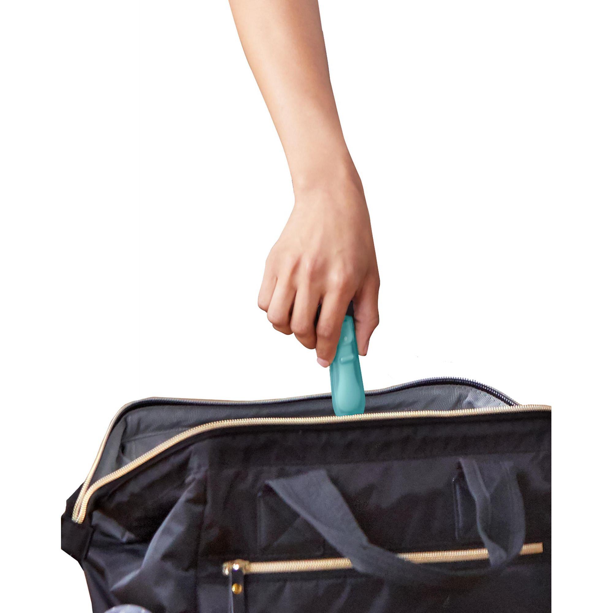 Kit colher dobrável para viagem azul - Skip Hop  - Kaiuru Kids