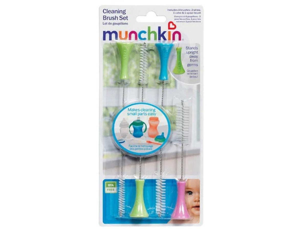 Kit escovinhas de limpeza para canudo - Munchkin  - Kaiuru Kids