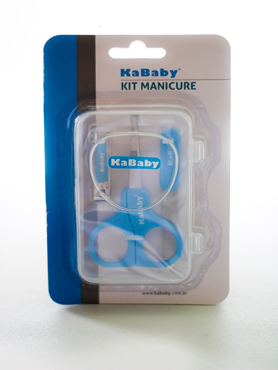 Kit manicure com caixa - KaBaby  - Kaiuru Kids