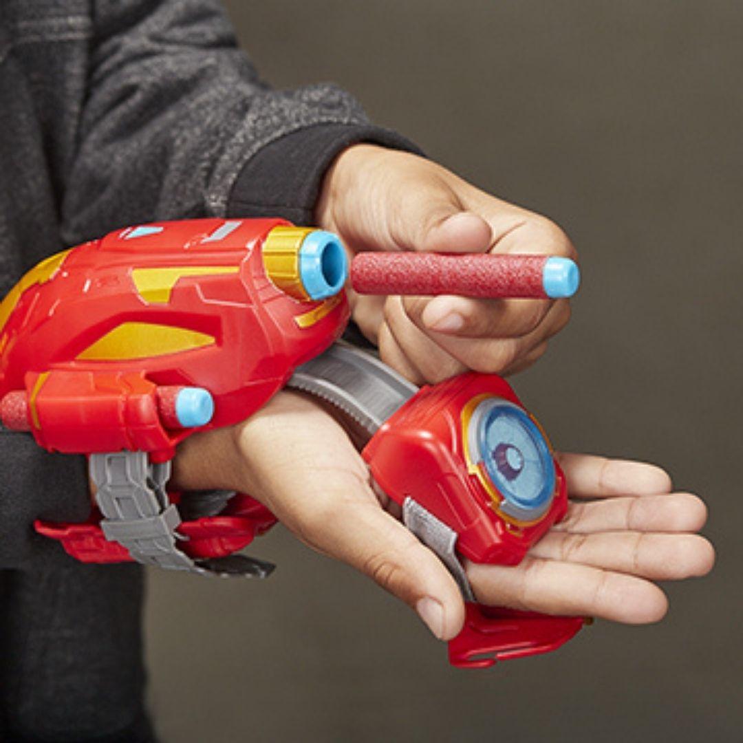 Lançador Avengers Power Moves Homem De Ferro 5+ anos - Hasbro  - Kaiuru Kids