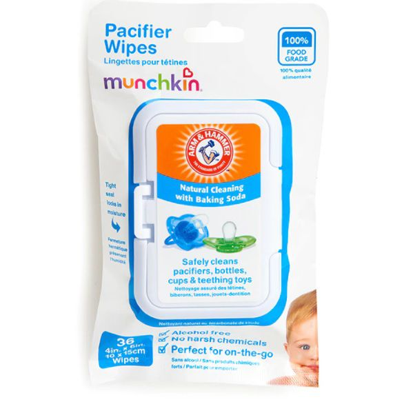 Lenços para chupetas - Munchkin  - Kaiuru Kids