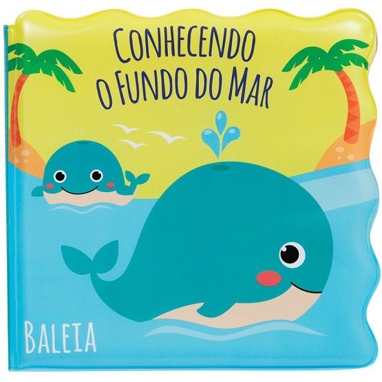 Livrinho de banho conhecendo o fundo do mar - Buba  - Kaiuru Kids