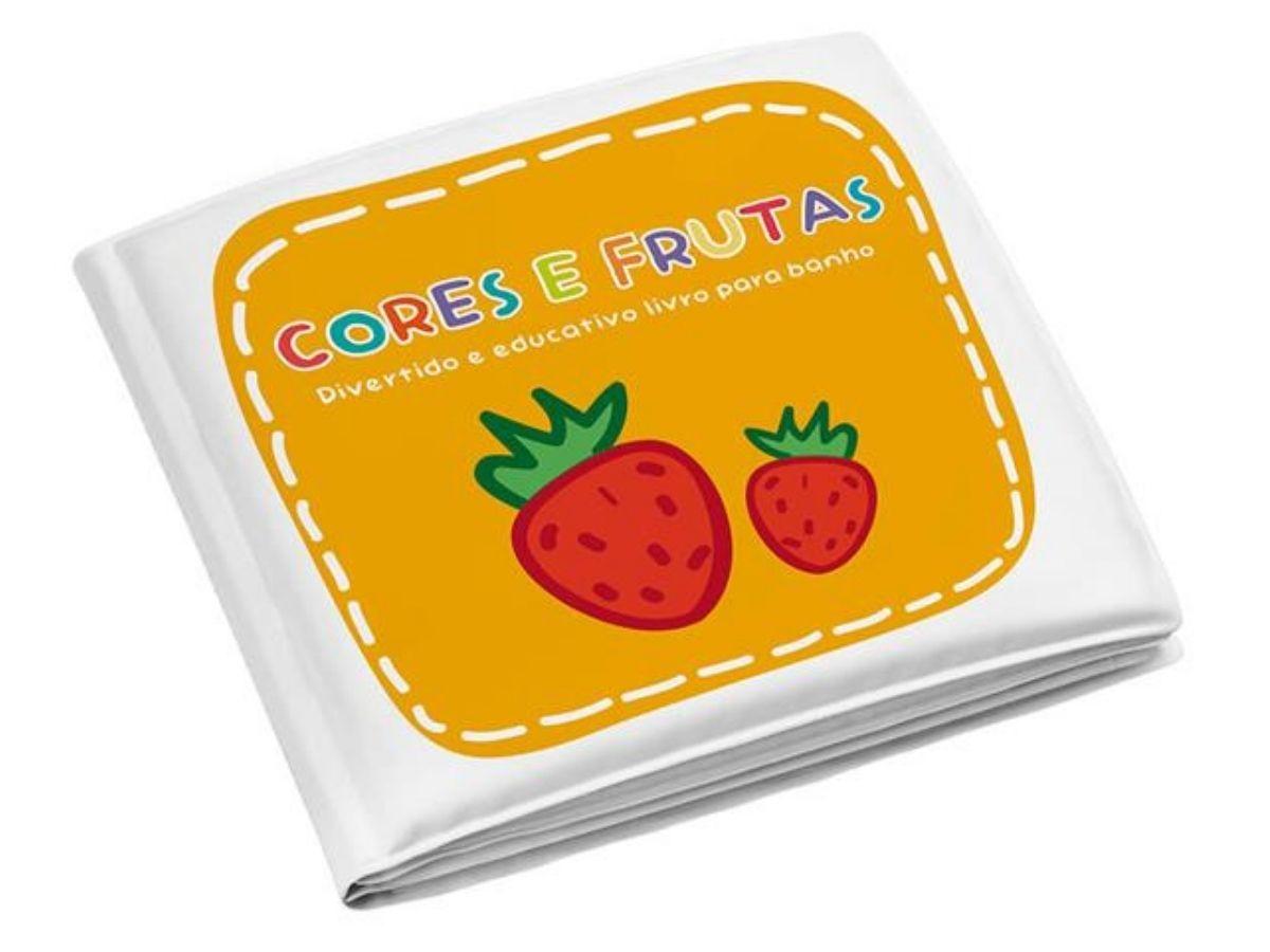 Livrinho de banho Cores e Frutas - Multikids Baby  - Kaiuru Kids