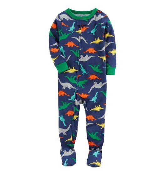 Macacão azul dinossauros - Carter