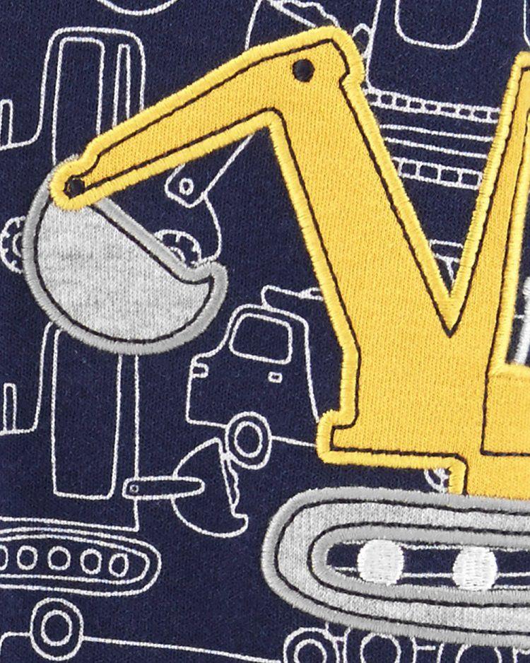 Macacão de malha construtor - Carters  - Kaiuru Kids