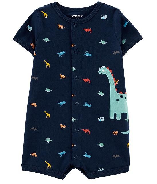 Macaquinho azul dinossauros - Carters  - Kaiuru Kids