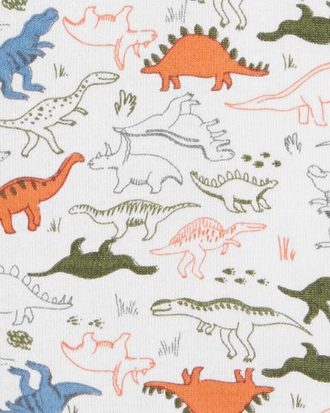 Macaquinho branco dinossauros - Carters  - Kaiuru Kids