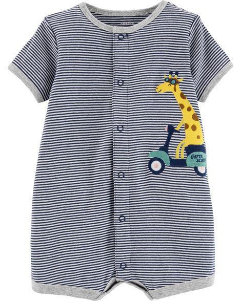 Macaquinho listrado girafa - Carters  - Kaiuru Kids