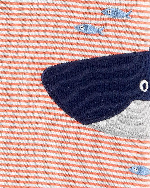 Macaquinho listrado tubarão - Carters  - Kaiuru Kids