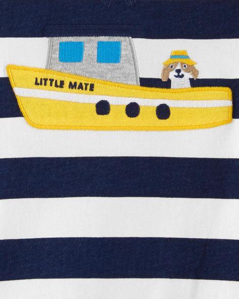Macaquinho marinheiro com capuz - Carters  - Kaiuru Kids