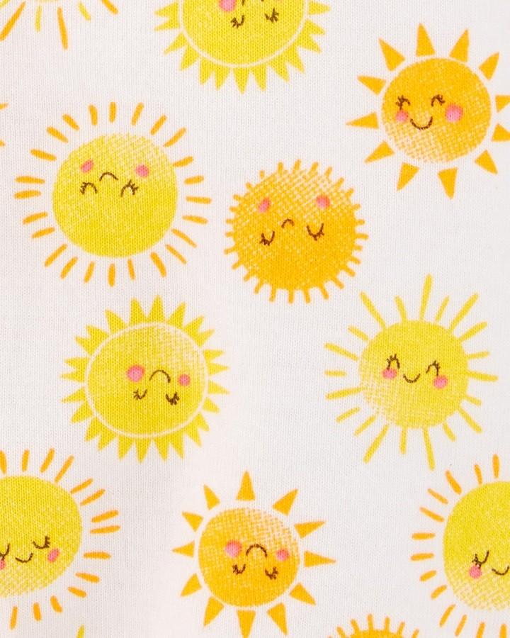 Macaquinho regata amarelo sol - Carters  - Kaiuru Kids
