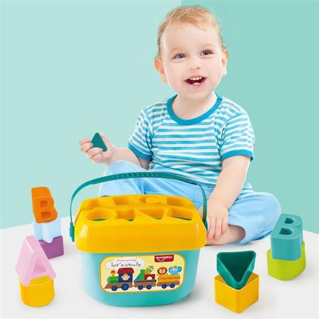 Maleta meus primeiros blocos 18M+ Multikids Baby  - Kaiuru Kids