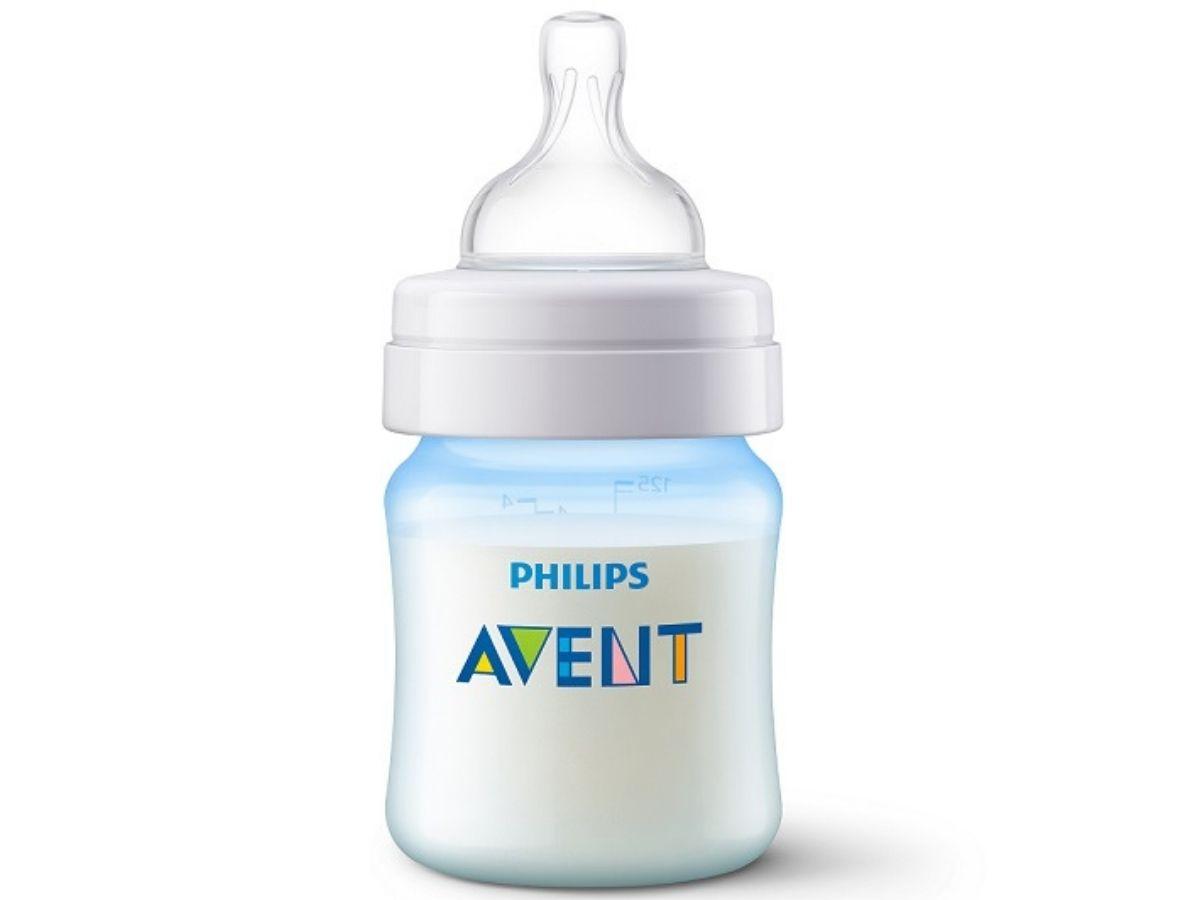 Mamadeira Anti-colic clássica 125 ml (0m+) - Avent  - Kaiuru Kids