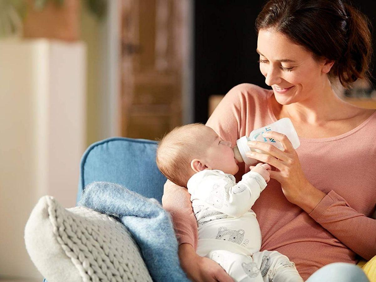 Mamadeira Anti-colic clássica 260 ml (1m+) - Avent  - Kaiuru Kids