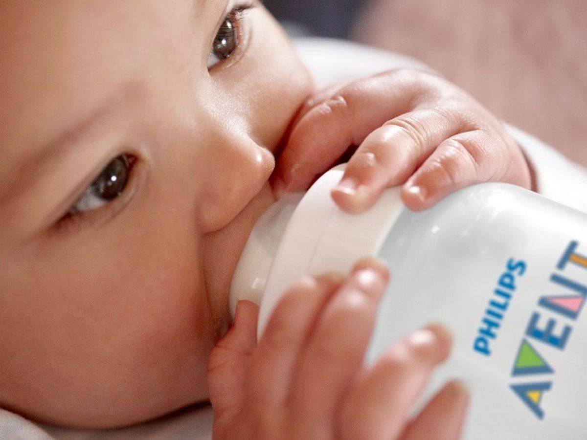 Mamadeira Anti-colic clássica 330 ml (3m+) - Avent  - Kaiuru Kids