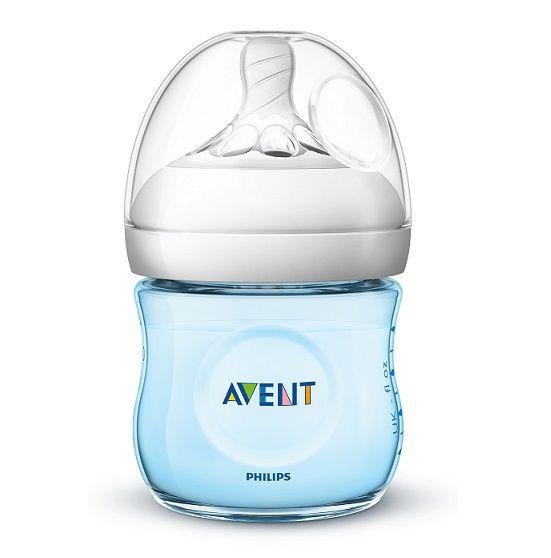 Mamadeira pétala azul 125 ml (0m+) - Avent  - Kaiuru Kids