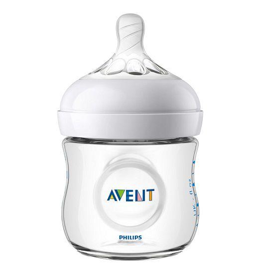 Mamadeira pétala branca 125 ml (0m+) - Avent  - Kaiuru Kids