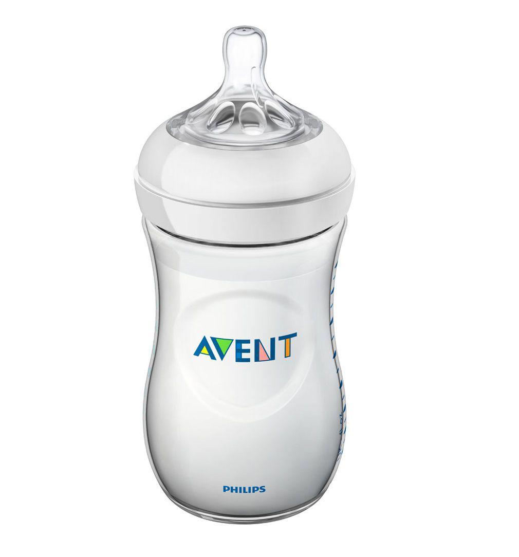 Mamadeira pétala branca 260 ml (1m+) - Avent  - Kaiuru Kids