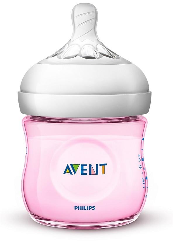 Mamadeira pétala rosa 125 ml (0m+) - Avent  - Kaiuru Kids