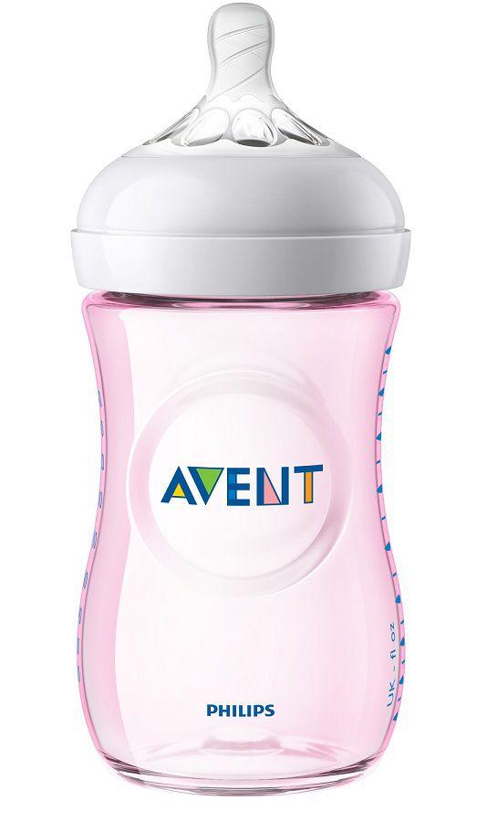 Mamadeira pétala rosa 260 ml (1m+) - Avent  - Kaiuru Kids
