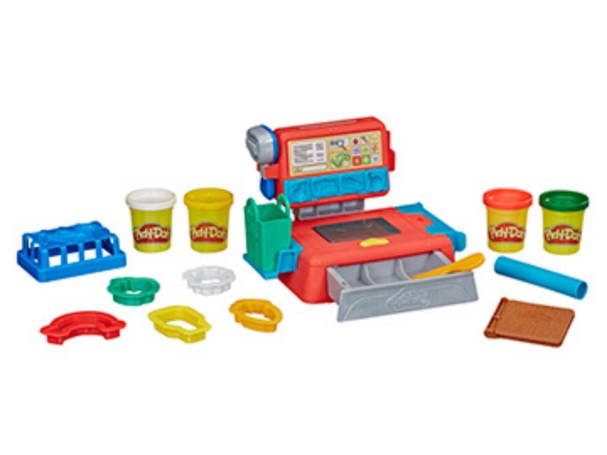 Massinha PLAY-DOH Caixa registradora 3+ anos - Hasbro  - Kaiuru Kids