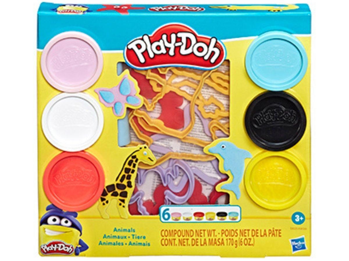 Massinha PLAY-DOH Fundamentos Animais 3+ anos - Hasbro  - Kaiuru Kids
