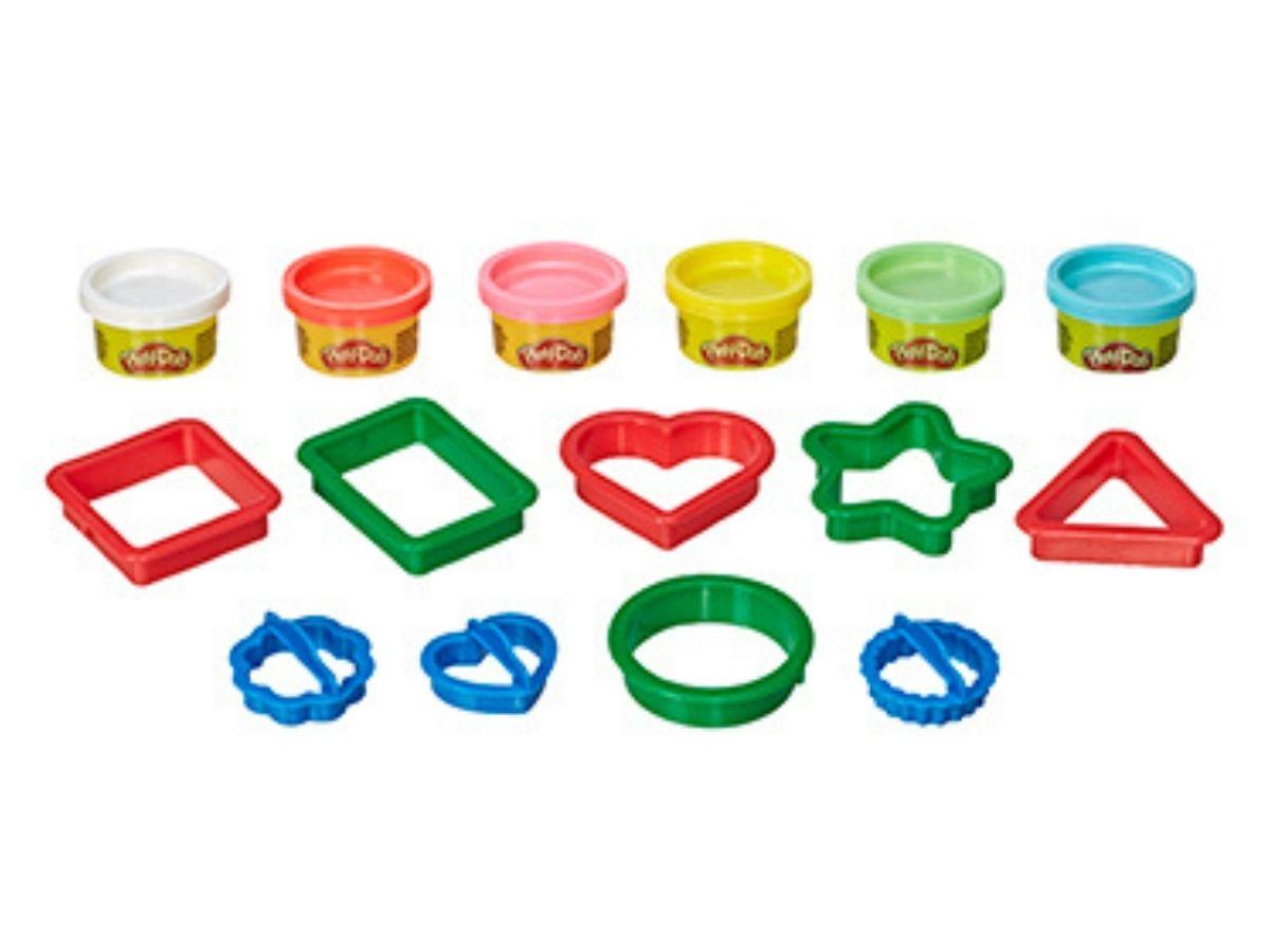 Massinha PLAY-DOH Fundamentos Formas 3+ anos - Hasbro  - Kaiuru Kids