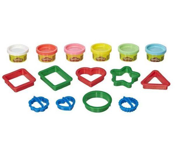 Massinha PLAY-DOH fundamentos Formas - Hasbro  - Kaiuru Kids