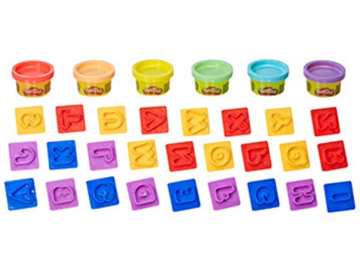 Massinha PLAY-DOH Fundamentos Letras 3+ anos - Hasbro  - Kaiuru Kids