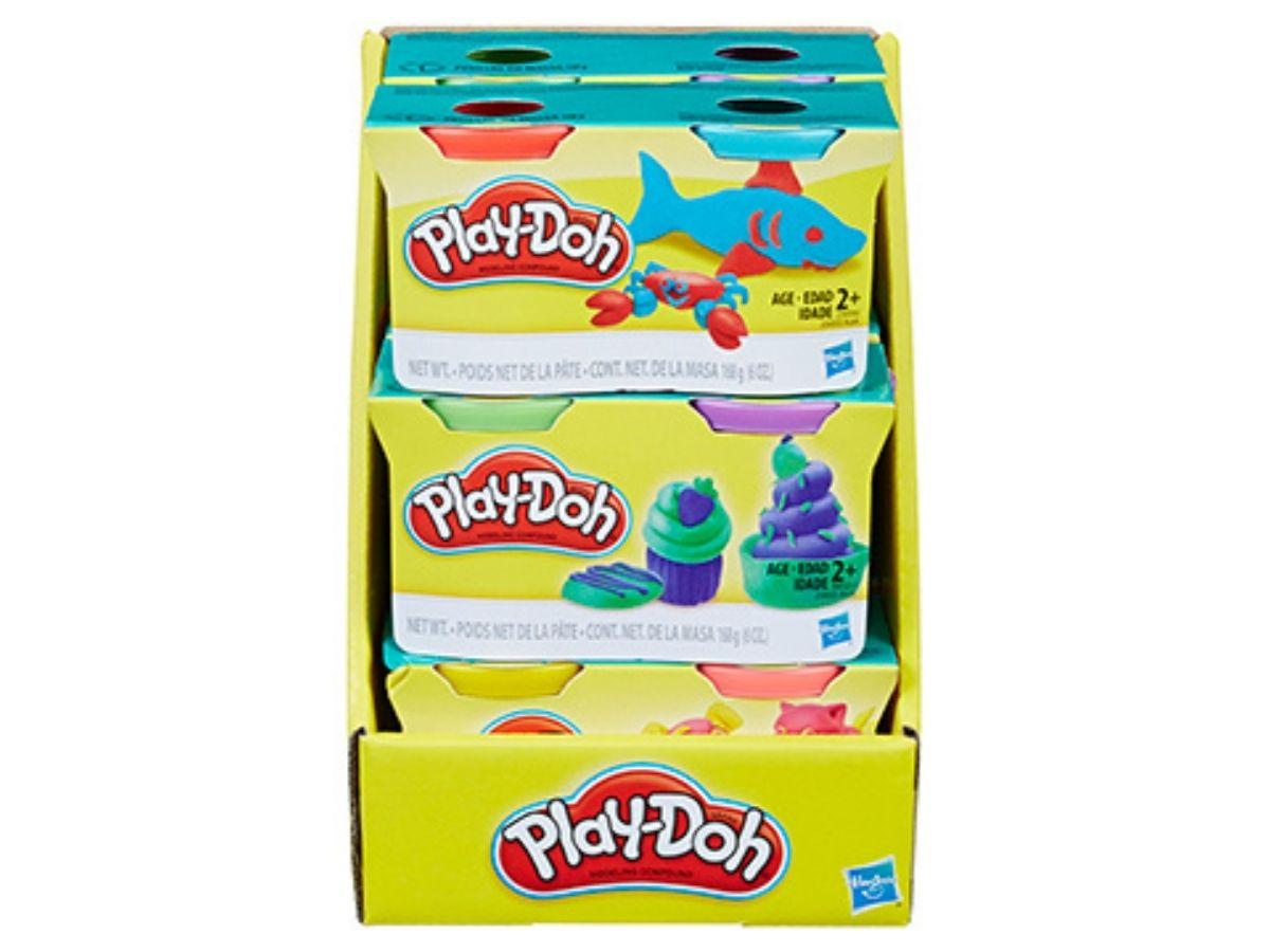 Massinha PLAY-DOH kit com 2 potes sortidos 2+ anos - Hasbro  - Kaiuru Kids