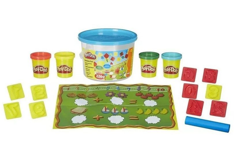 Massinha PLAY-DOH mini balde - Hasbro  - Kaiuru Kids