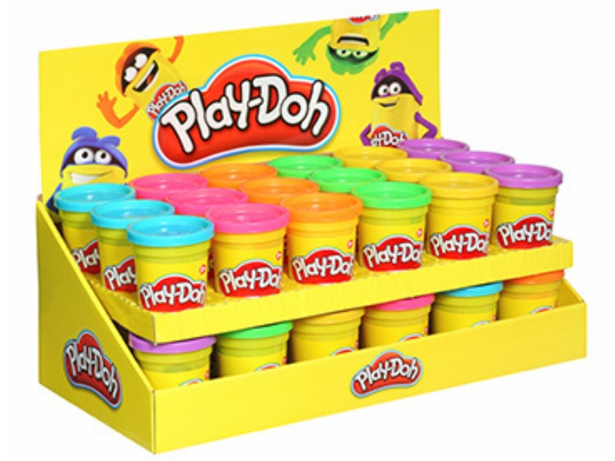 Massinha PLAY-DOH pote individual sortido 2+ anos - Hasbro  - Kaiuru Kids