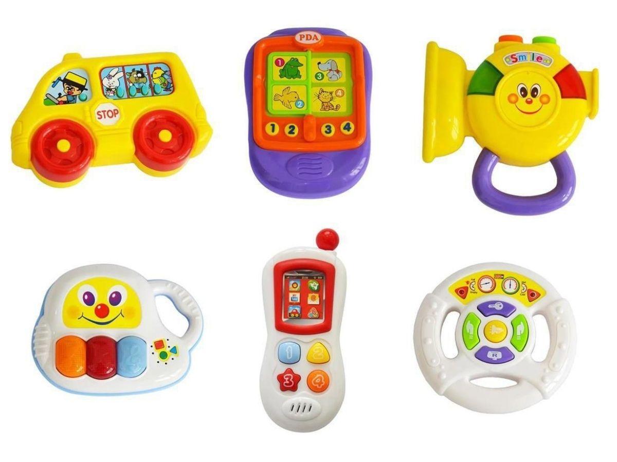 Meu primeiro brinquedo interativo 6M+ Multikids Baby  - Kaiuru Kids