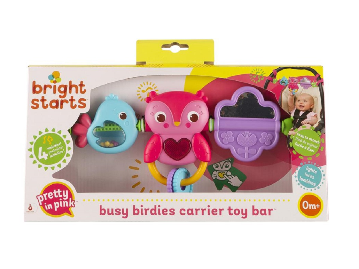 Móbile barra de atividades musical Pip Busy Birdies 0M+ Bright Starts  - Kaiuru Kids