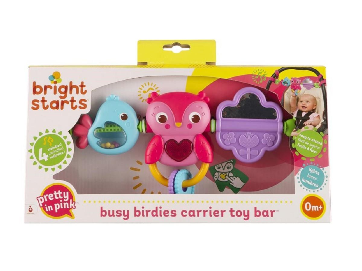 Móbile barra de atividades Pip Busy Birdies - Bright Starts  - Kaiuru Kids