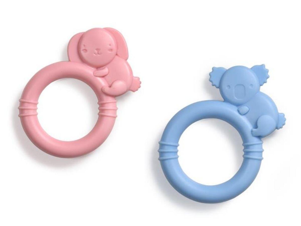 Mordedor de silicone Sili Soft 3M+ Multikids Baby  - Kaiuru Kids