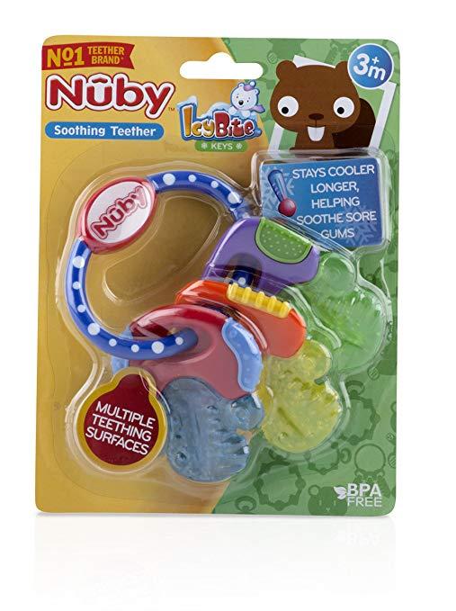 Mordedor Ice gel chaves - Nûby  - Kaiuru Kids
