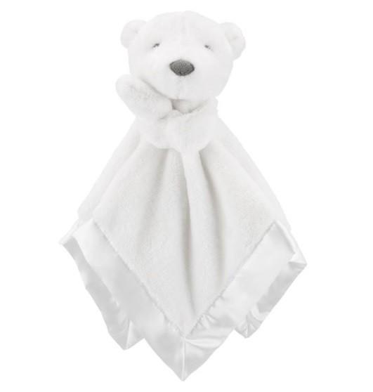 Naninha branca Urso - Carter