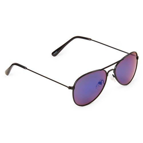 Óculos de sol aviador preto - The Children