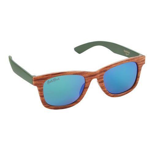 Óculos de sol madeira - Carter