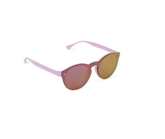 Óculos de sol redondo espelhado lilás - The Children