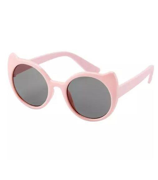 Óculos de sol redondo rosa gatinha - Carters  - Kaiuru Kids