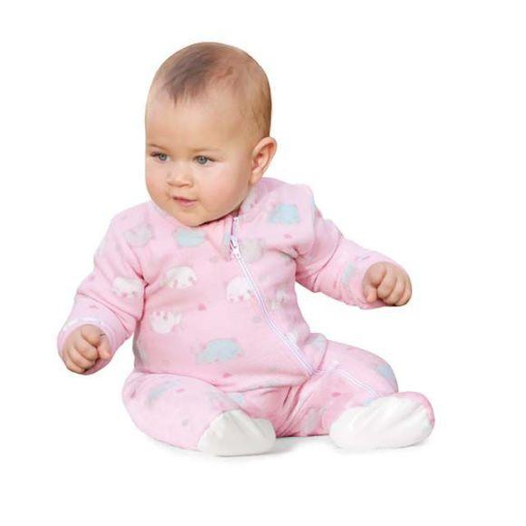 Pijama macacão soft rosa Gatinhos - Vrasalon  - Kaiuru Kids