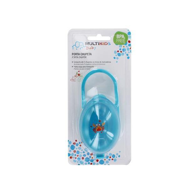 Porta chupeta azul - Multikids Baby  - Kaiuru Kids