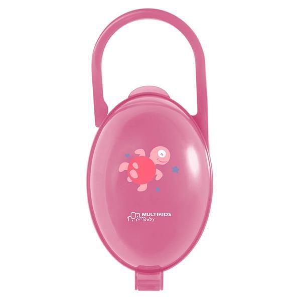 Porta chupeta rosa - Multikids Baby  - Kaiuru Kids